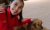 Hoa hậu Tường Linh hành hương Nepal ngày đầu năm