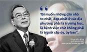 Những phát ngôn ấn tượng của nguyên Thủ tướng Phan Văn Khải