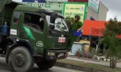 Hải Phòng: Tài xế xe tải bất chấp lệnh dừng, tông cảnh sát giao thông để trốn chạy