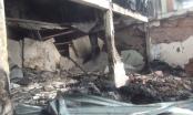 TP HCM: Bà hỏa thiêu rụi nhiều tài sản tại xưởng sản xuất hạt nhựa