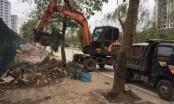 Phường Đại Kim dọn sạch hàng trăm mét phế thải đổ trộm dọc bờ sông Lừ
