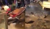 Lào Cai: Lực lượng chức năng huyện Sa Pa đập bể cá của người dân?