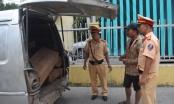 Thừa Thiên Huế: Bắt giữ 2 xe chở gỗ Trắc không hoá đơn chứng từ