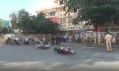 TP HCM: Liên tiếp va chạm xe máy, ẩu đả trên đường