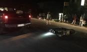 Xe máy va chạm với ô tô biển xanh, 1 người tử vong tại chỗ