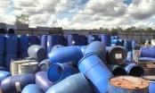 Bình Dương: Phát hiện gần 1.000 thùng phi đựng hóa chất chưa qua xử lý