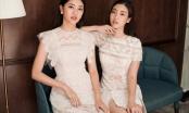 Hoa hậu Mỹ Linh, Á hậu Thanh Tú rực rỡ sắc hè với váy ren
