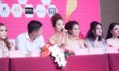 Hoa hậu Jennifer phạm đẹp hút hồn khi làm giám khảo bên cạnh Bình Minh