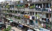 Slide Địa ốc: Những hình ảnh chung cư xuống cấp khiến người dân sợ hãi ở TP HCM