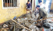 Nghệ An: Clip thầy trò lăn xả trong đống bùn cho kịp ngày khai giảng