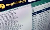 Hacker tuyên bố nắm thông tin của hơn 5 triệu khách hàng Thế Giới Di Động
