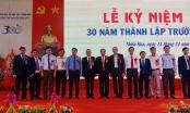 """Hành trình 30 năm """"gieo chữ"""" của ngôi trường mang tên Danh nhân Nguyễn Quán Nho"""