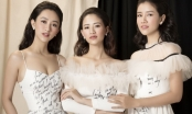 Ngắm nhan sắc mười phân vẹn mười của ba chị em Hoa hậu Hà Thu
