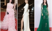 Hà Thu, Huỳnh Vy, Nam Em, Nam Anh đổ bộ thảm đỏ sự kiện We Choice Awards 2018