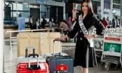Mặc khen chê trên mạng, Ngân Anh lên đường tham dự Miss Intercontinental 2018