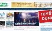 Báo điện tử Thời báo Chứng khoán Việt Nam thông báo tuyển dụng