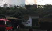 Hà Nội: Cháy lớn ở quán cà phê trên đường Phan Kế Bính