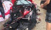 Hé lộ danh tính tài xế trong vụ siêu xe Ferrari của ca sĩ Tuấn Hưng gặp nạn trên cao tốc