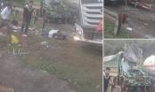 Hòa Bình: Tai nạn kinh hoàng giữa xe bồn và xe tải
