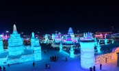 Rực rỡ lễ hội Băng đăng quốc tế tại Cáp Nhĩ Tân, Trung Quốc