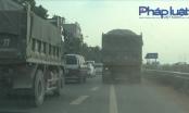 Xe trọng tải lớn vượt mặt chốt CSGT ở Bắc Giang, Chủ tịch UBND tỉnh giao Công an xử lý