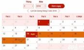 Lịch nghỉ Tết Nguyên đán Mậu Tuất 2018: Người lao động sẽ được nghỉ bao nhiêu ngày?