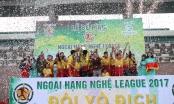Bế mạc giải bóng đá Ngoại hạng Nghệ League 2017