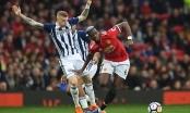 Man Utd 0-1 West Brom: Thua đau đội cuối bảng