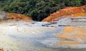 Nghệ An: Đập chứa bùn thải bị vỡ chỉ được đắp bằng đất