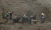 Cân nhắc phương án nổ mìn để tìm kiếm nạn nhân trong vụ sạt lở do bão