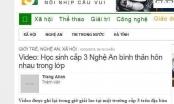 Nghệ An: Đề nghị xử lý trang thông tin điện tử đăng ảnh nóng khiến nữ sinh tự vẫn