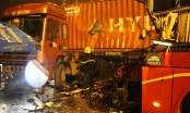 Tai nạn giao thông Plus: Xe khách tông trực diện xe đầu kéo, tài xế tử vong trên vô lăng