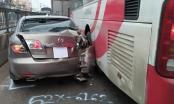 Tin tai nạn giao thông: Hành khách la hét cầu cứu trong vụ va chạm dây chuyền trên QL1