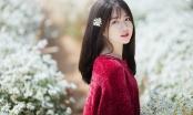 Hot girl Reuters Kiều Trinh lại gây thương nhớ với bộ ảnh bên cúc họa mi