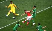 Nga - Ả rập Xê út: Những cầu thủ đã để lại dấu giày trong trận đấu