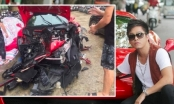Tuấn Hưng nói gì về vụ siêu xe 16 tỉ gặp tai nạn dập nát hết phần đầu
