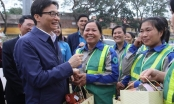 Phó Thủ tướng Vũ Đức Đam thăm, động viên người lao động đầu xuân mới
