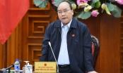 Thủ tướng chủ trì cuộc họp về sạt lở đất, bồi lấp tại 13 tỉnh miền Trung