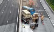 Diễn tập phương án phòng chống ùn tắc trên cao tốc Hà Nội - Hải Phòng