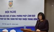 Tập huấn bồi dưỡng kỹ năng lãnh đạo cho Giám đốc Sở Tư pháp
