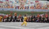 Tưng bừng hội diễn võ thuật cổ truyền thị xã Phú Thọ lần thứ II