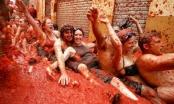 Không khí vui nhộn tại lễ hội cà chua ở Tây Ban Nha