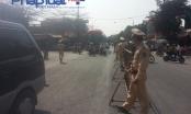 Chợ Viềng: 100% lực lượng CSGT Nam Định ra đường