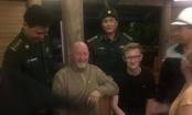 Giải cứu du khách nước ngoài lạc trong khe núi đảo Cát Bà