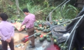 Tuyên Quang: Lật xe chở hoa quả, một người tử vong