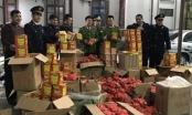 """Lạng Sơn: Lực lượng chức năng thu giữ gần 1 tấn pháo bị """"bỏ quên"""" bên đường"""