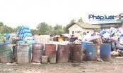 Phát hiện Chi nhánh Công ty TNHH xử lý môi trường Sông Xanh đốt rác thải công nghiệp trái phép