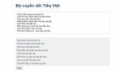 Xuất hiện công cụ chuyển đổi nhanh tiếng Việt thành 'Tiếq Việt cải tiến'