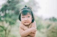 Bộ ảnh em bé má phính ngộ nghĩnh gây sốt dân mạng