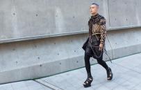 Hữu Anh đốn tim fan Hàn bằng stylist chất lừ, độc lạ